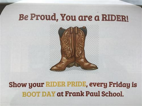 Flyer for boot day Eng.