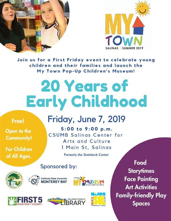 Flyer 20 years early childhood ed