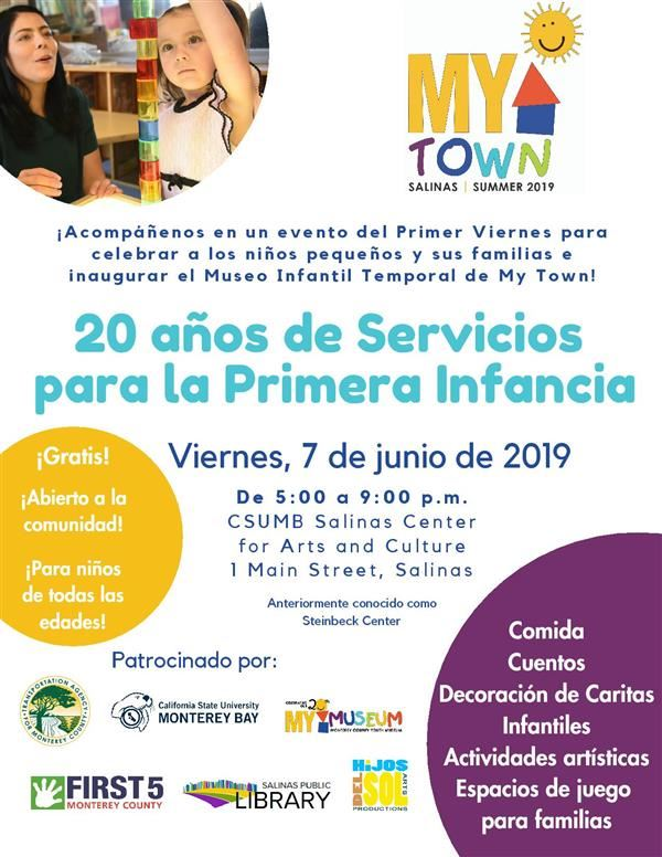 Flyer 20 years early education Spanish
