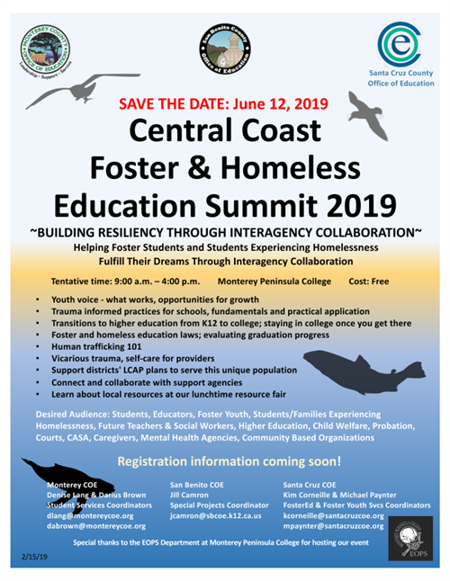 Flyer for Education Summit