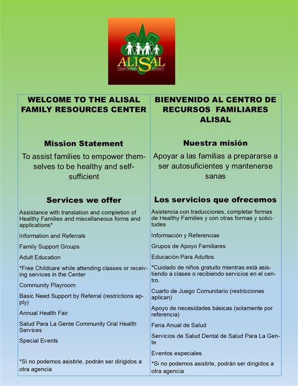Services at Alisal FRC