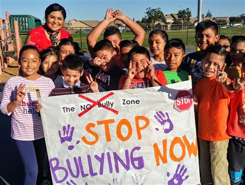 Children say no to bullying