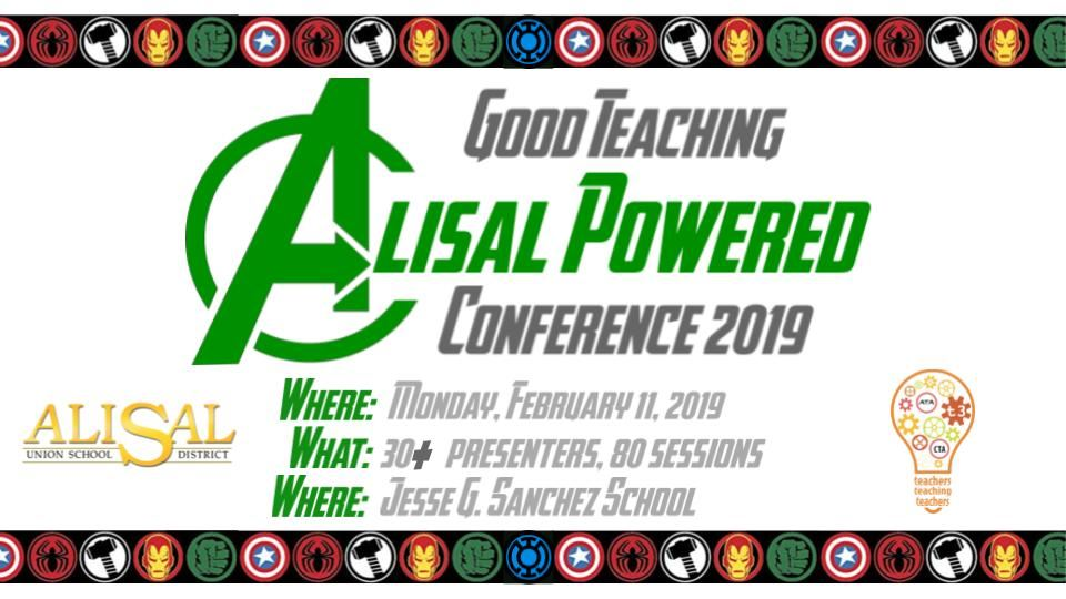 Super Heroes: The Alisal Good Teaching Conference is back!
