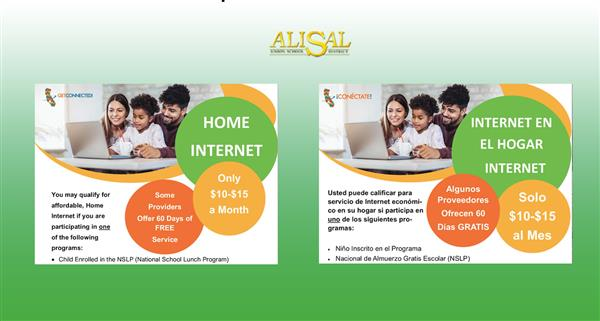 Affordable Internet for AUSD families