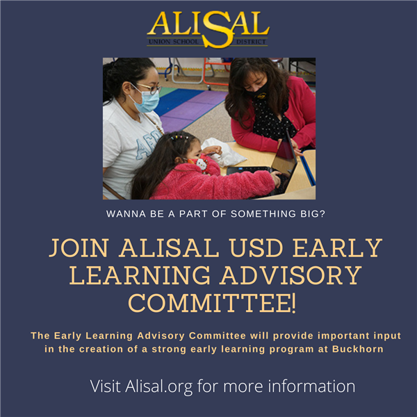 Creating the Early Learning Center Advisory Committee