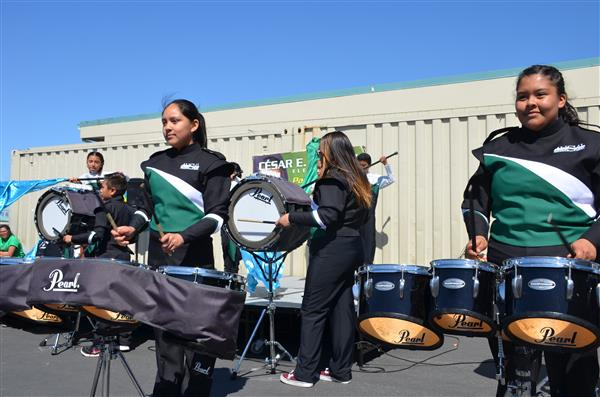 AUSD Drumline earning more recognition