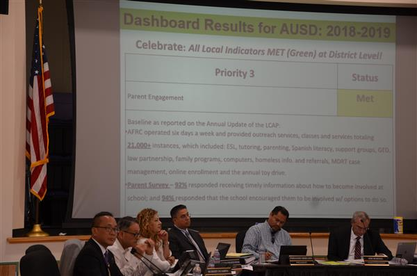New leadership at the Alisal USD Board of Trustees