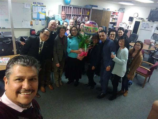 Mrs. Cressman is the Alisal USD Teacher of the Year