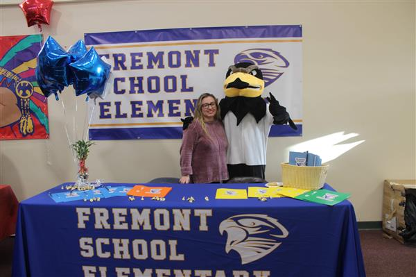 Fremont table at job fair