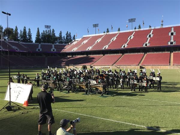 Drumline at Stanford