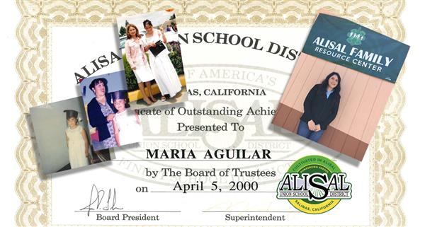 Maria Aguilar — Cultivated in Alisal